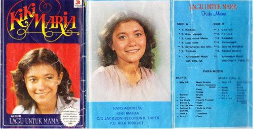 Foto Kiki Maria Album Lagu Untuk Mama (1980)