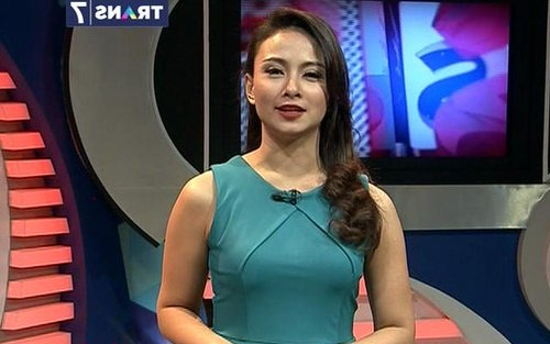 Foto Auxilia Paramitha Puspita presenter Tv