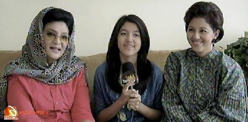 Gina Sonia anak farida pasha dan keluarga cucunya ify blink