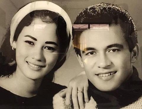 Foto Dicky Suprapto muda dan Suzanna